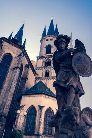 Church of St. Nicolas in Cheb (Czech Republic) photo