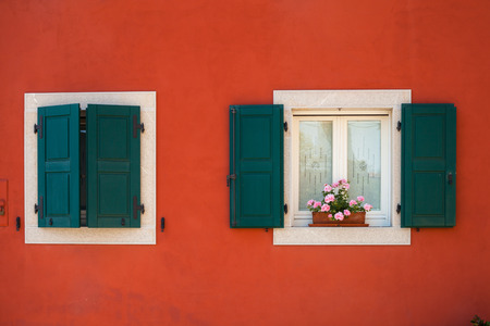 colourfully: Burano is an island in the Venetian Lagoon, northern Italy