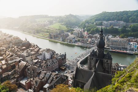 walloon: Dinant is a Walloon city and municipality located on the River Meuse in the Belgian province of Namur