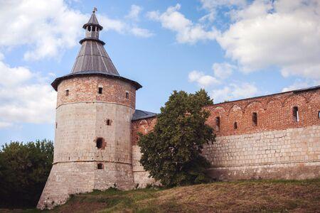 citadel: Stone citadel in the city of Zaraysk Moscow region