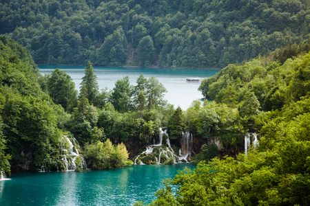 southeast europe: Plitvice Lakes National Park is one of the oldest national parks in Southeast Europe and the largest national park in Croatia.