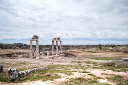 hierapolis: Hierapolis was an ancient city located on hot springs