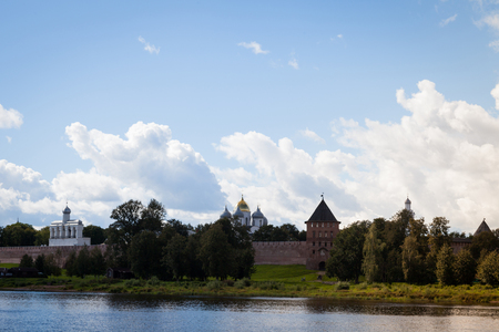 Veliky Novgorod, also known as Novgorod the Great is one of the oldest and most important historic cities in Russia 写真素材