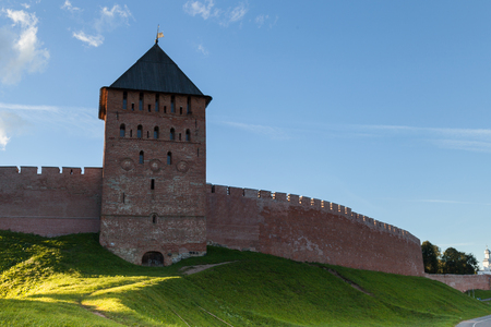 Veliky Novgorod, also known as Novgorod the Great is one of the oldest and most important historic cities in Russia Фото со стока