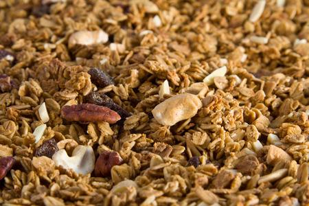 granola: Granola texture