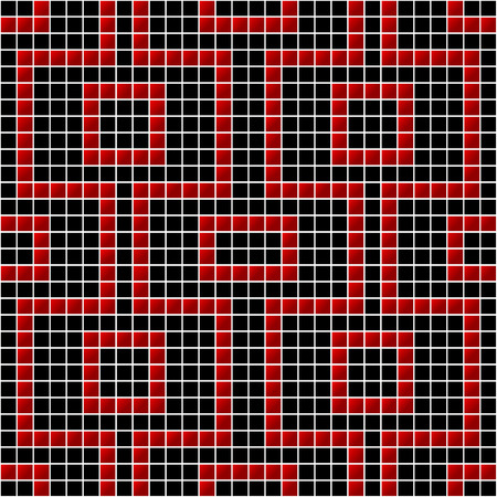 diagonals: image of rectangles, good for background and pattern for graphical composition Illustration