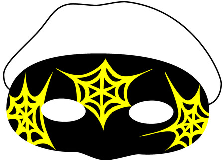 A beautiful carnival mask for new year or Halloween party Stock Vector - 7296254