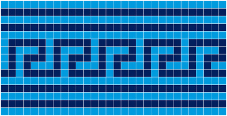 square sheet: Vector image of rectangles, good for background and pattern for graphical composition Illustration