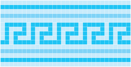 image of rectangles, good for background and pattern for graphical composition Ilustração