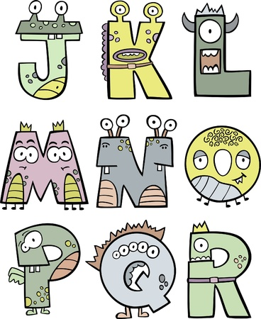 Monster Alphabet II