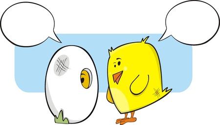 talking: Chicks talking