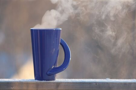 Hot Coffee in the Morning