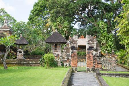 Taman Ayun temple in Bali, Indonesia photo