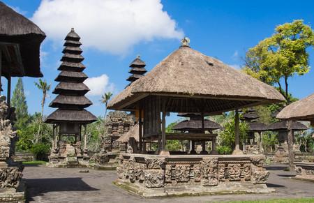taman: Taman Ayun temple (Mengwi) in Bali, Indonesia Stock Photo