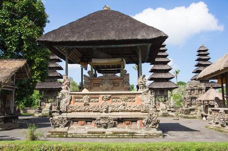 Temple structures Taman Ayun, Bali photo