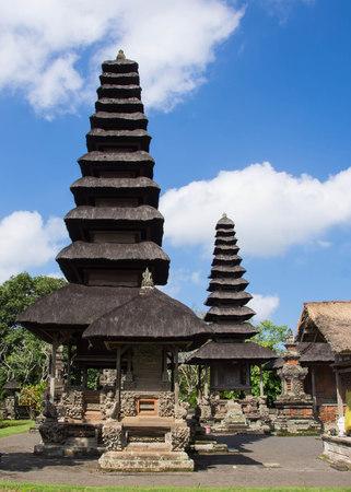 The temple Taman Ayun on the island of Bali photo