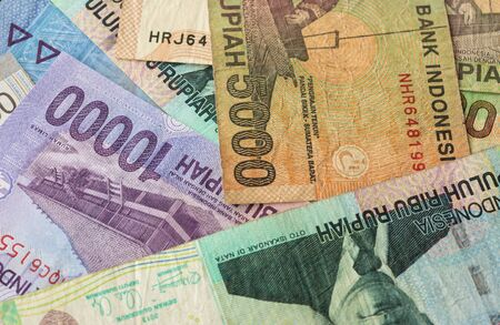 Background from Indonesian rupiah Banco de Imagens - 40340971