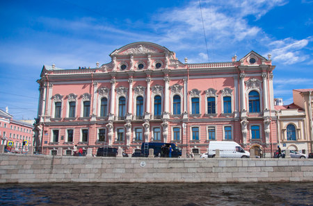 townscape: St. Petersburg, townscape from the channel