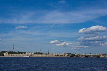 and st petersburg: St. Petersburg, view of the city from the Neva River