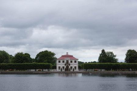 peterhof: Marly Palace in Peterhof. St. Petersburg, Russia Editorial