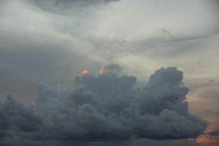 tropics: Beautiful sky at sunset in the tropics