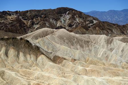 Zabriskie Point (Death Valley National Park, California, USA) Stock Photo