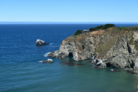 seascapes: Seascapes along the California State Route One, California, USA Stock Photo