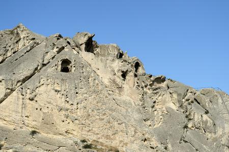 Ancient cave town Uplistsikhe, Georgia