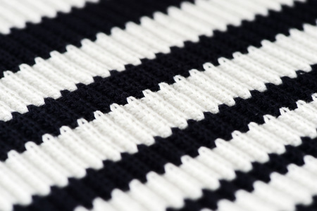 Striped knitwear as a texture and background close up Stock Photo