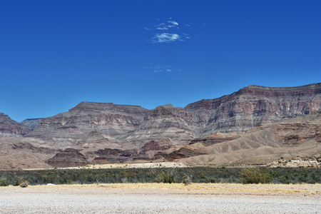 Pierce Ferry Road landscapes, Meadview. Grand Canyon National park, Arizona, USA