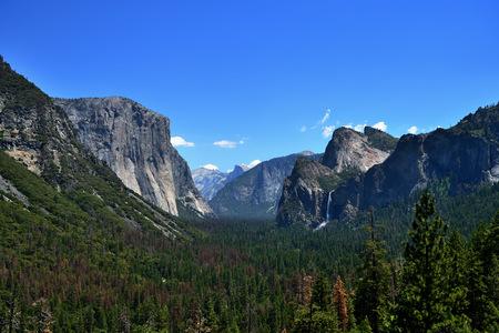 Mountain landscape in Yosemite National Park, California, USA Stock fotó