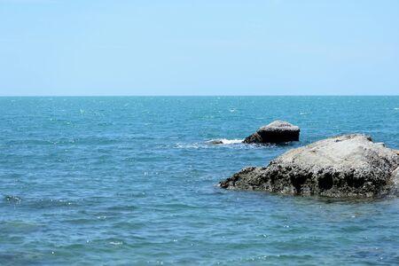Beautiful seascape on the coast of the island of Koh Samui, Thailand