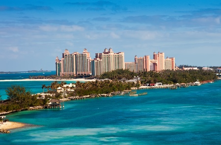 View of Paradise Island in Nassau, Bahamas  Stock Photo - 17482062