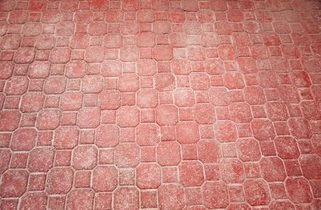adoquines: Antecedentes de ladrillo adoquines de piedra natural y del cemento
