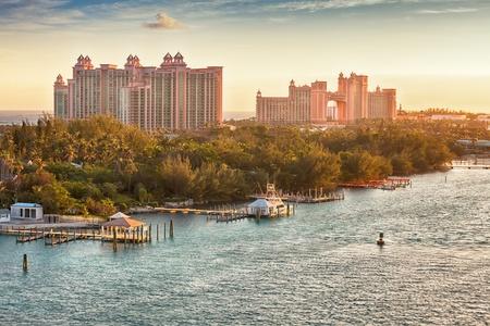 Luxury hotel on Paradise Island, Bahamas Redakční