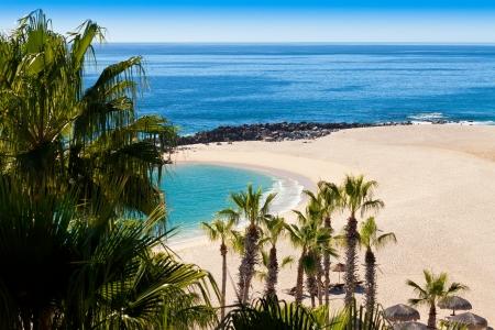san: Beach in Cabo San Lucas, Mexico Stock Photo