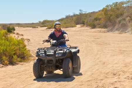 All Terrain Vehicle rider in Cabo San Lucas, Mexico photo