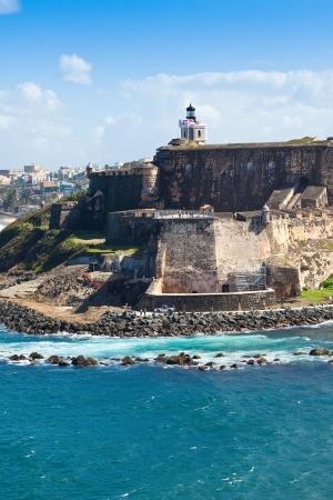 Historic El Morro Castle in San Juan, Puerto Rico