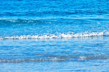 gulf of mexico: Small surf waves from the Gulf of Mexico in Florida