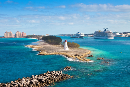 The Bahamas, in the Eastern Caribbean. photo