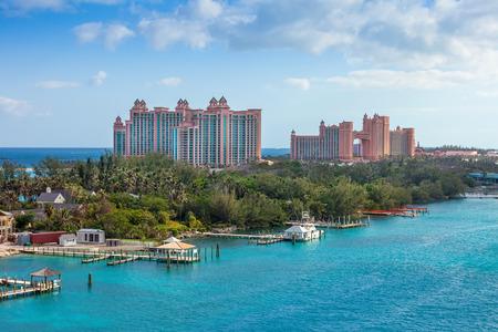 Paradise Island, à Nassau, Bahamas Banque d'images - 25837336