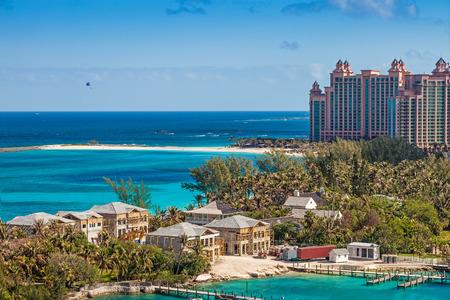 Paradise Island, à Nassau, Bahamas Banque d'images - 25837257