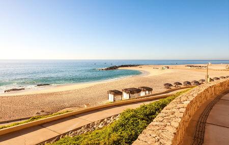 Mer de Cortez et de la plage sur Cabo San Lucas, au Mexique Banque d'images - 26031128
