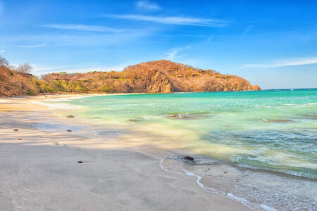 rica: A beach in the Golfo de Papagayo in Guanacaste, Costa Rica