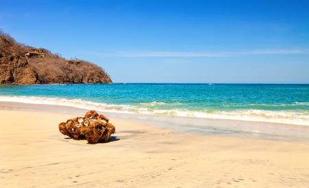 Scenic view of the beach along the Golfo de Papagayo in Guanacaste, Costa Rica
