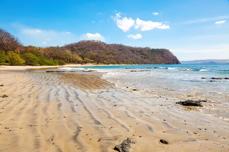 rica: Scenic view of the beach along the Golfo de Papagayo in Guanacaste, Costa Rica