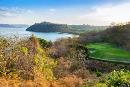 rica: Scenic view of the harbor of the Golfo de Papagayo in Guanacaste, Costa Rica