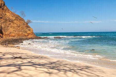 golfo: Scenic view of the beach along the Golfo de Papagayo in Guanacaste, Costa Rica