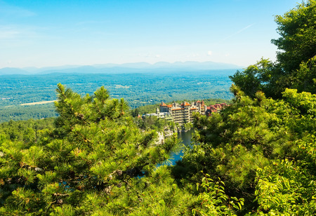 Mohonk Mountain House, old fashioned hotel nestled in the Shawangunk Mountains, New Paltz, New York.