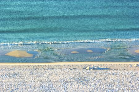 Plan d'Miramar Beach à Destin, en Floride le long du golfe du Mexique Banque d'images - 35313949